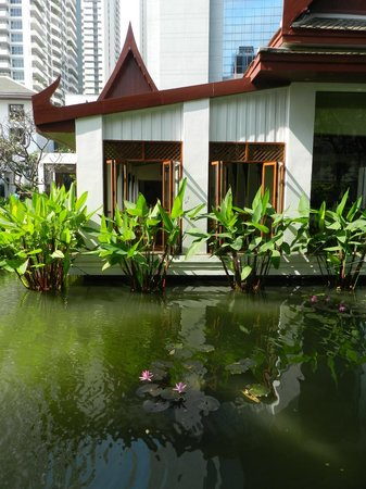 The Sukhothai Bangkok: the lovely Celadon restaurant