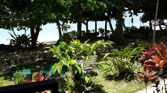 Matana Beach Resort - Dive Kadavu : Our front yard