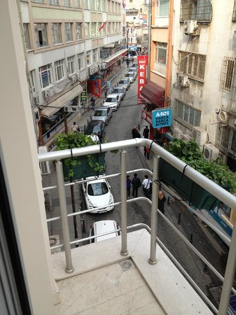 Aprilis Hotel: view