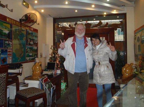 Luxury Hotel: Vu Loan das Lächeln persönlich ;-)))