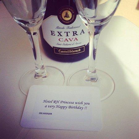 Hotel RH Princesa & Spa: My birthday present from the hotel