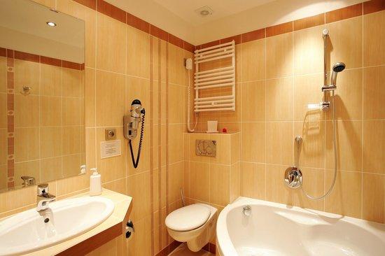 Hotel Roudna, Plzen: Bathroom