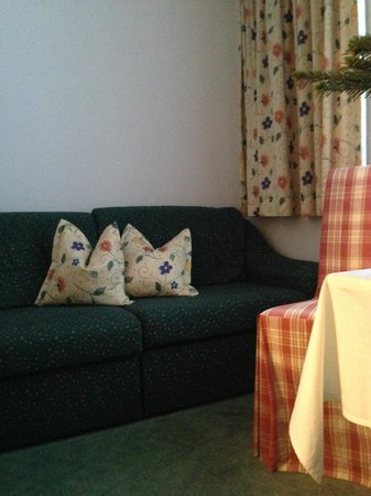 Pension Mallaun: Cosy couch