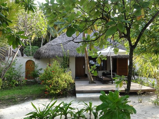 Kuramathi Island Resort: домики на острове