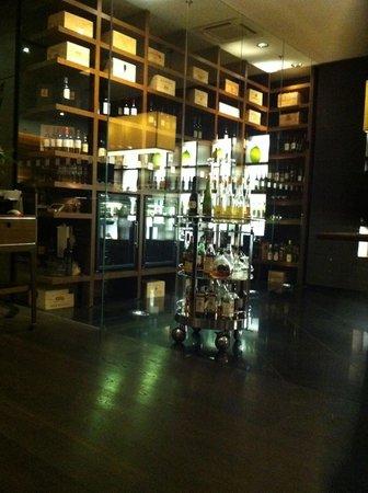 Mövenpick Hotel Stuttgart Airport: vinoteka