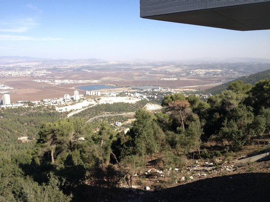 Haifa University: View from the Student Building
