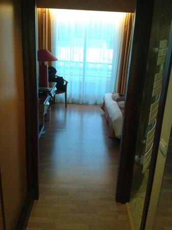 Hôtel Spa du Beryl : couloir chambre