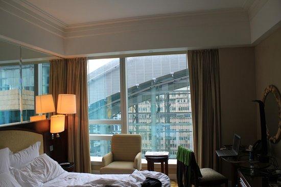 Cordis, Hong Kong: View from room 3