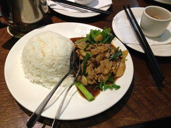 Nyonya: Pollo con lo zenzero