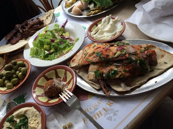 Lebanese Mill : Mixed grill, hummus, pickle/veggie plate, Arabic salad and more!