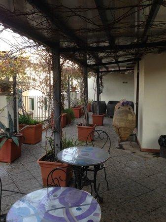 Antica Locanda: terrasse