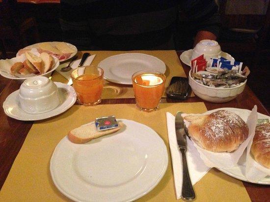 Antica Locanda: petit déjeuner