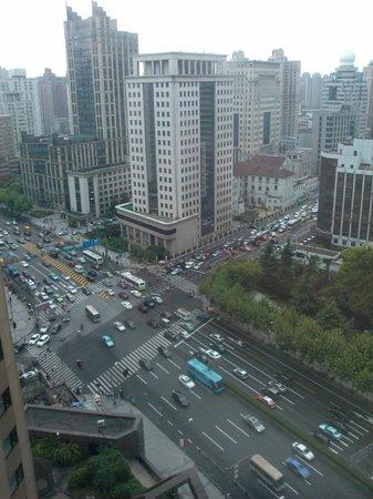 Jianguo Hotel: Vista dalla camera