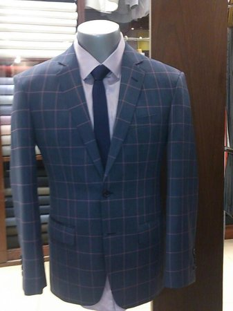 Come in for a sharp custom fit sports jacket. British Custom Tailors. Terminal 21. Bangkok.