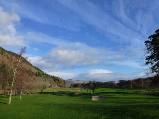 Mains of Taymouth Golf Course: Concentrate on the hole ....not the view!