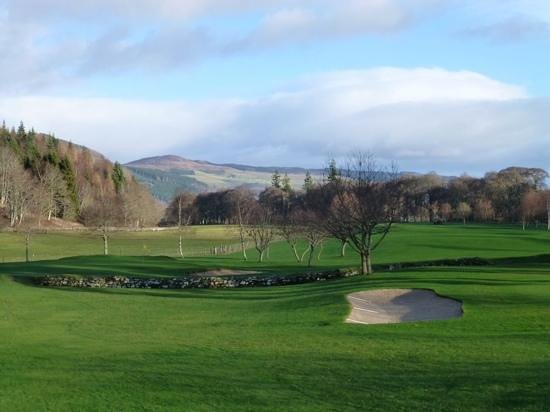 Mains of Taymouth Golf Course: Focused on the hole this time!