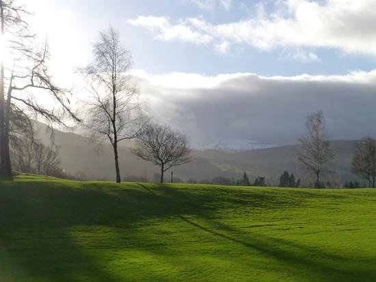 Mains of Taymouth Golf Course: Daylight slowly going yet golf getting better?
