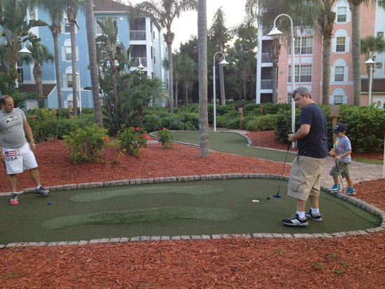 Grande Villas Resort: Mini Golf