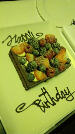 Sofitel Legend The Grand Amsterdam: Gâteau d'anniversaire