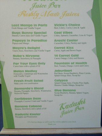 Kadushi Juice Bar