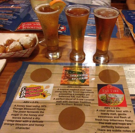 Dixie Crossroads: Crafted beer sampler