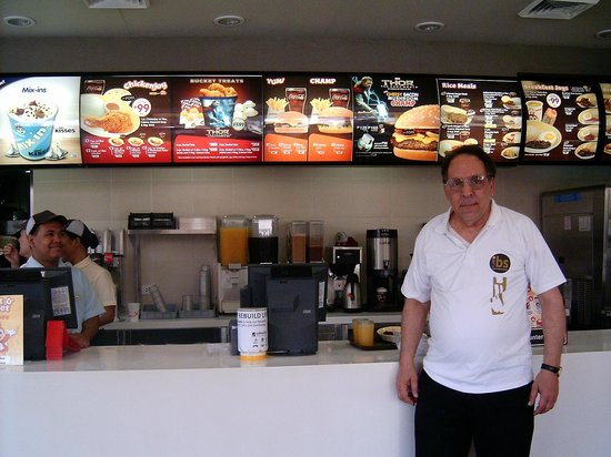 Jollibee: An ever expanding menu, lots of choices