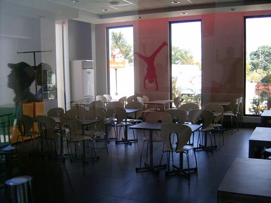 Jollibee: One of two function rooms available