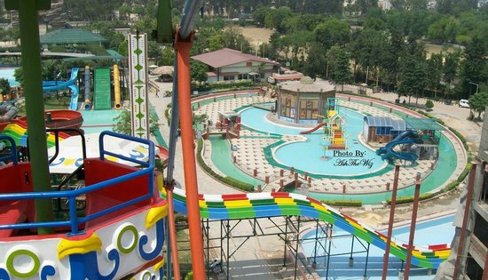 Sonipat, India: Aerial View of Kiddie Pool