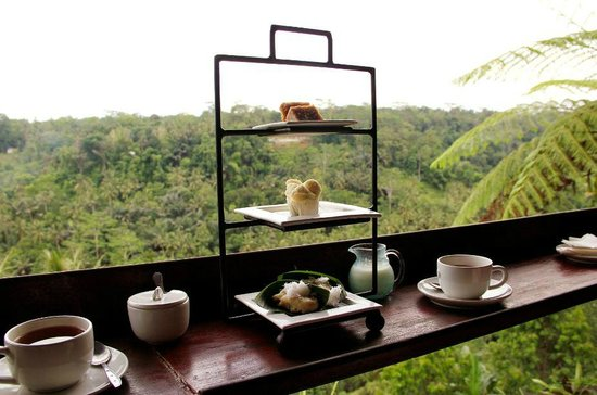 Kupu Kupu Barong Villas and Tree Spa: Afternoon Tea