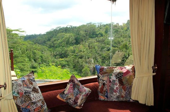 Kupu Kupu Barong Villas and Tree Spa: View from room