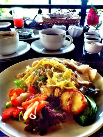 Kupu Kupu Barong Villas and Tree Spa: Ubud Menu-Breakfast-Main Course