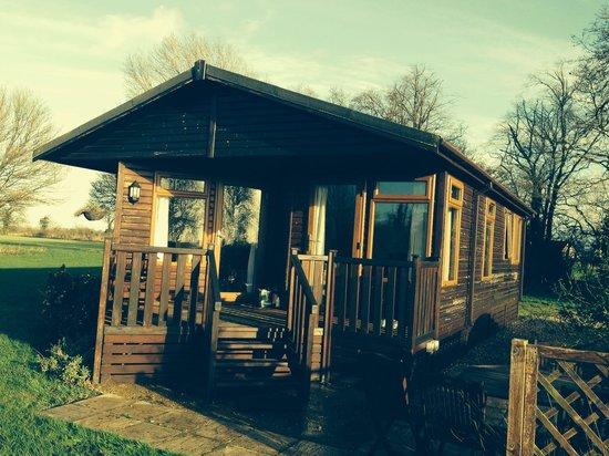 Athelington Hall Log Cabin Holidays: Ash lodge