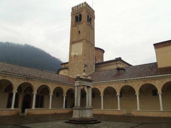 Abbazia di S.Maria di Praglia: chiostro alto