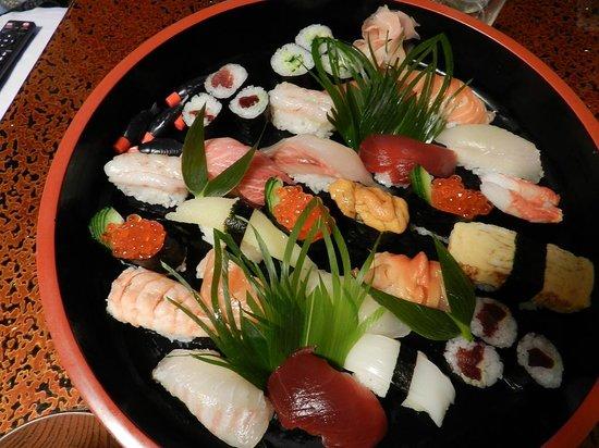Shimaya Ryokan: 気に入った寿司店