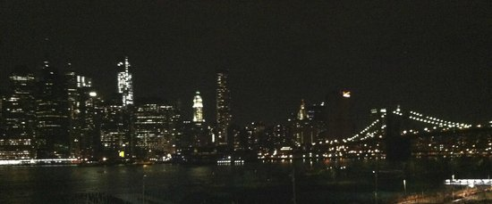 NYSee Tours : View of the Brooklyn Bridge and Manhattan Skyline from the Brooklyn Promenade