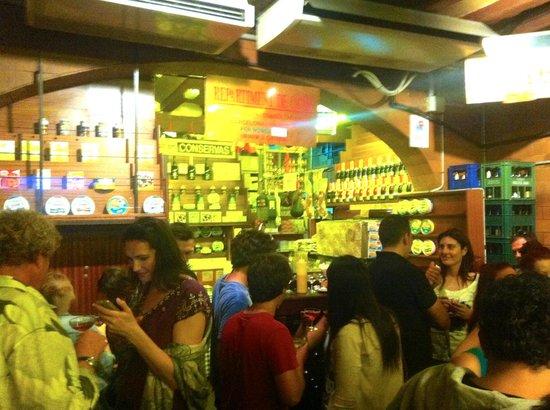 Can Paixano (La Xampanyeria) : 'Butiken'