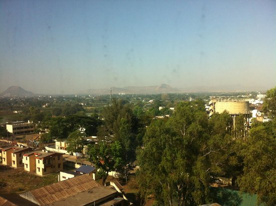 Ibis Nashik : The Vview from my room