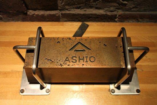 Ashio Dozan: 古河マークの入った銅インゴット20kg