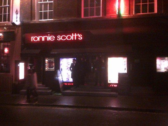 Ronnie Scott's: Outside