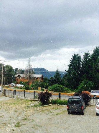 Apart Hotel Matute: Hasta con lluvia es linda la vista!