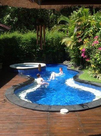 The Zen Villas: Tranquility villa pool