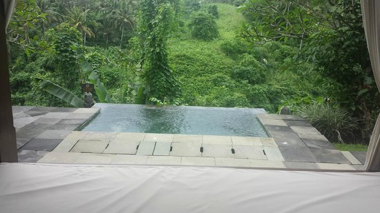 Natura Resort and Spa: The private pool