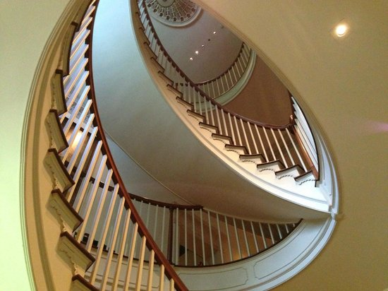 Winterthur Museum, Garden & Library: Imagine making your entrance from this staircase