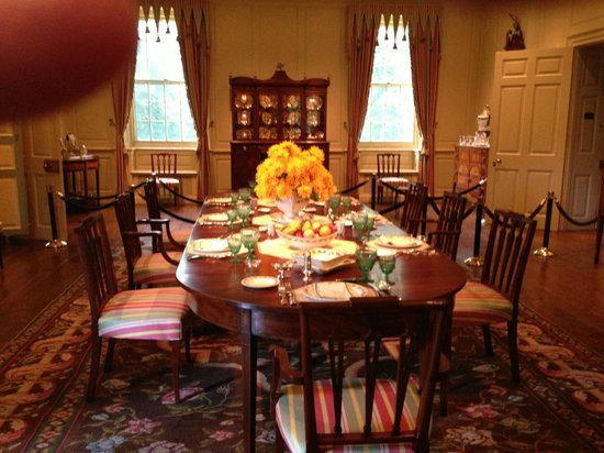 Winterthur Museum, Garden & Library: The dining room--a relic of the past--no eating pizza in front of the TV
