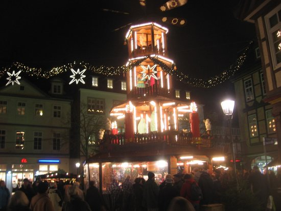 Julepyramiden Pa Julemarkedet Bild Von Hotel Celler Hof Celle