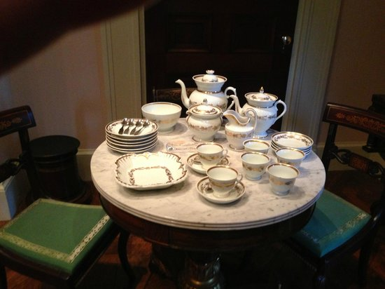 Winterthur Museum, Garden & Library : One of the countless priceless tea sets