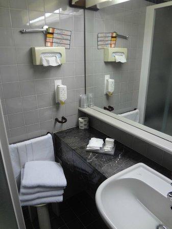 Maxim Hotel : ванная