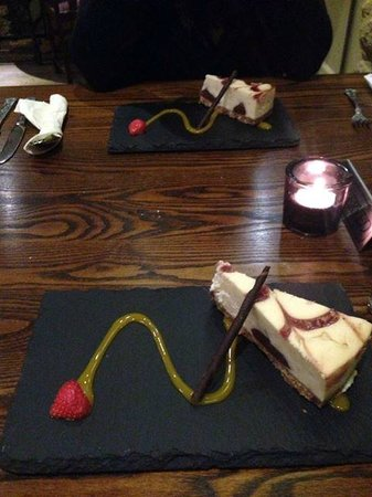 The Arch: our desserts