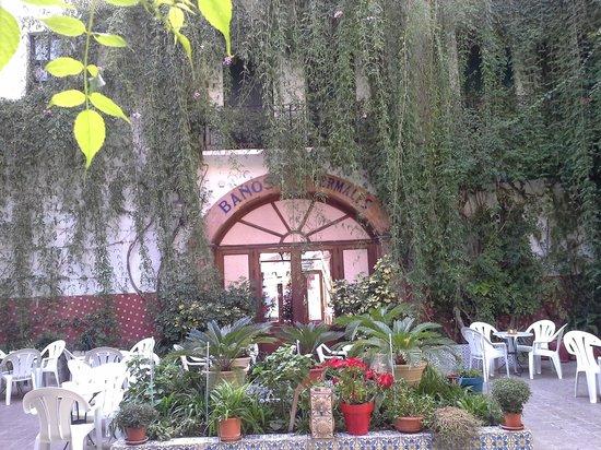 L'Encarnacion: beautiful courtyard