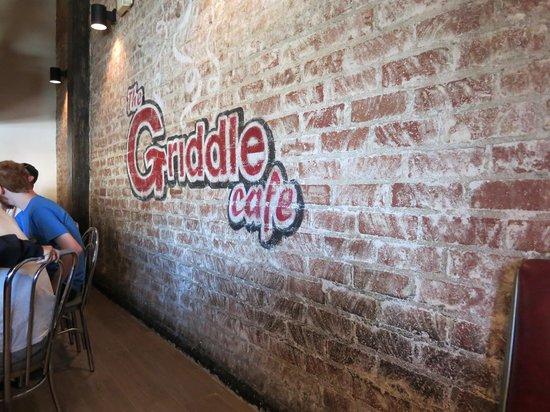 The Griddle Cafe : 店內